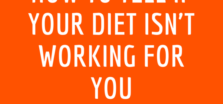 Signs your diet isn't working even though you're losing weight